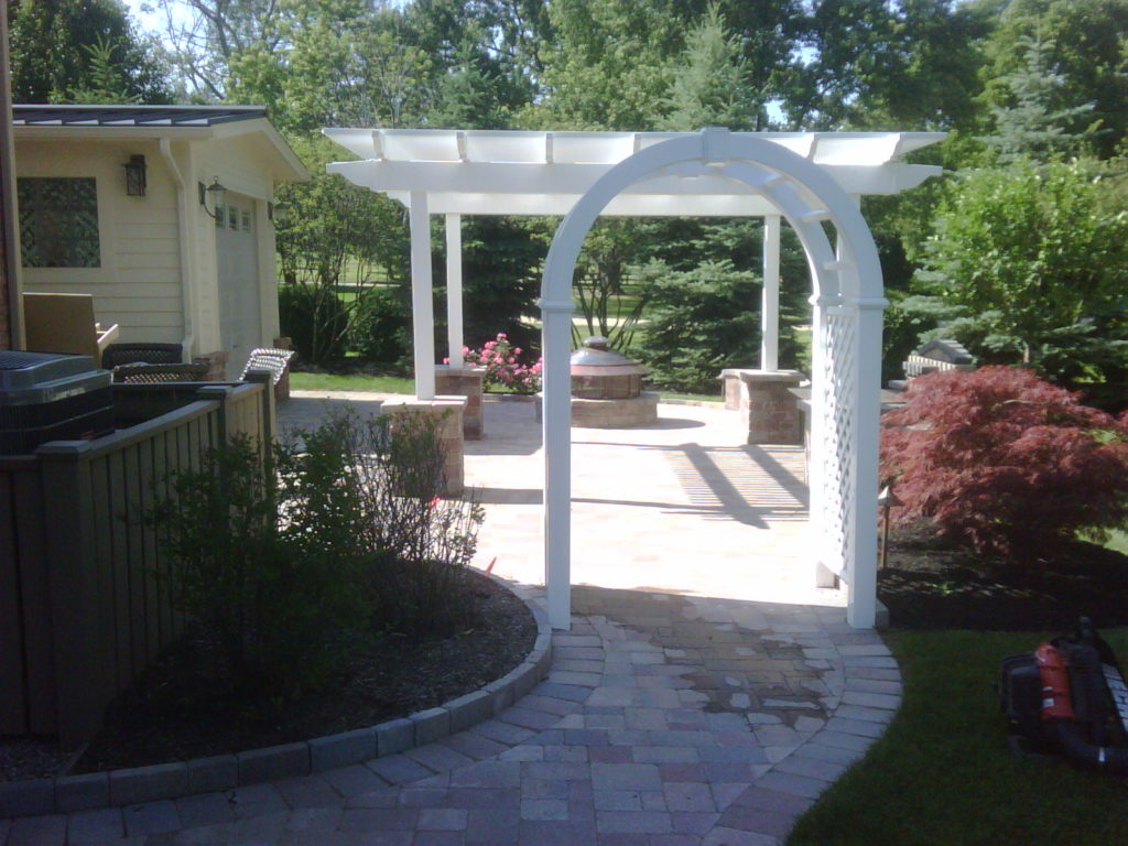 Brick Paver Patio 1
