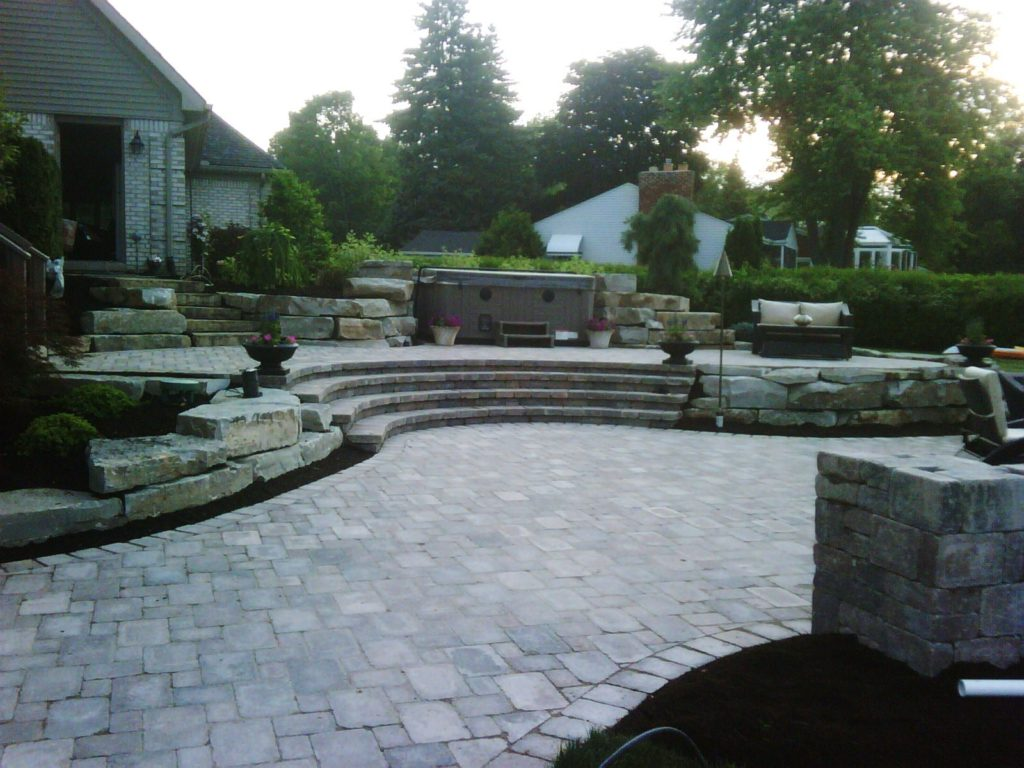 Brick Paver Patio 2
