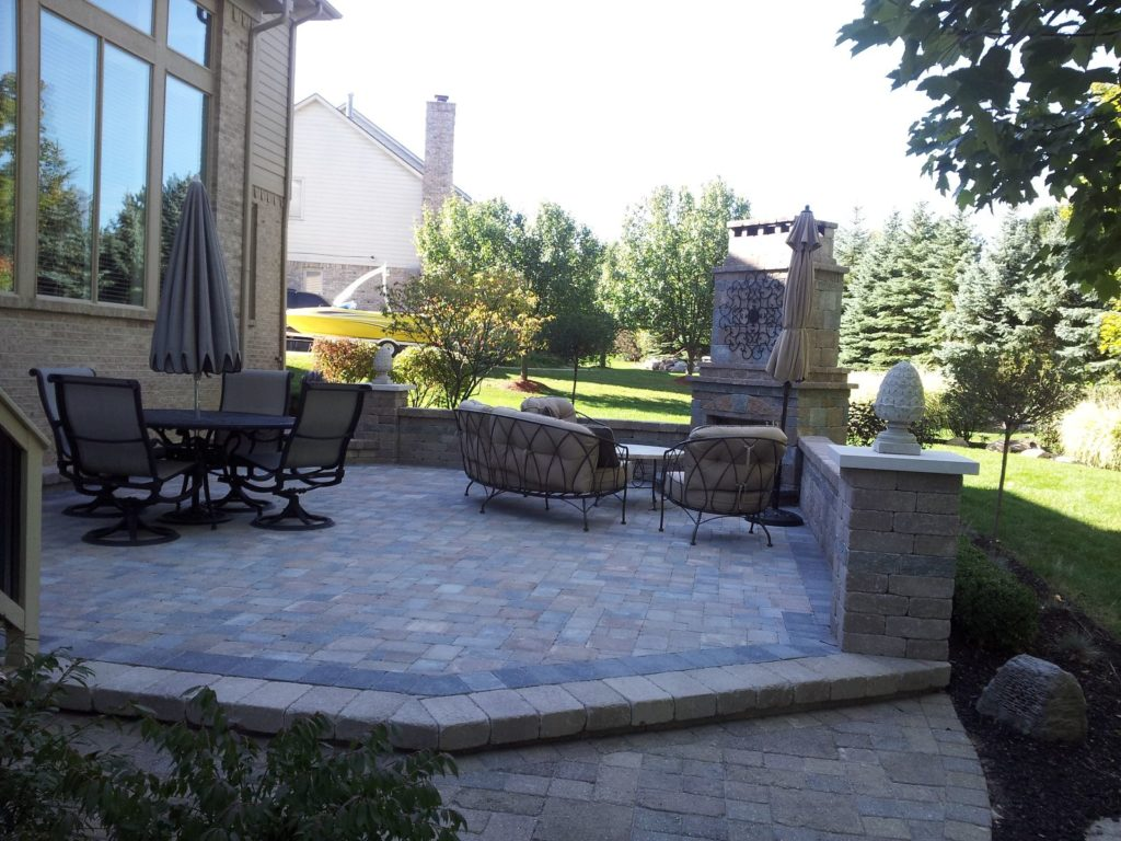 Brick Paver Patio 8